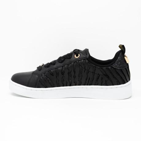 Leather Sneaker // Black (Euro: 35)