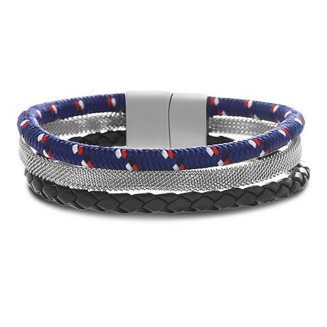 Triple Wrap Bracelet // Multicolor