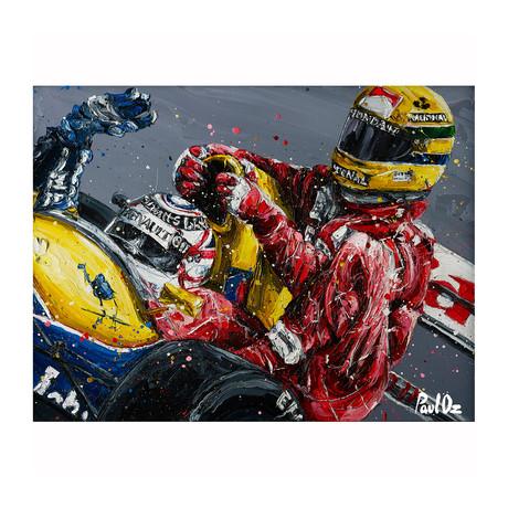 Senna Mansell Taxi '16