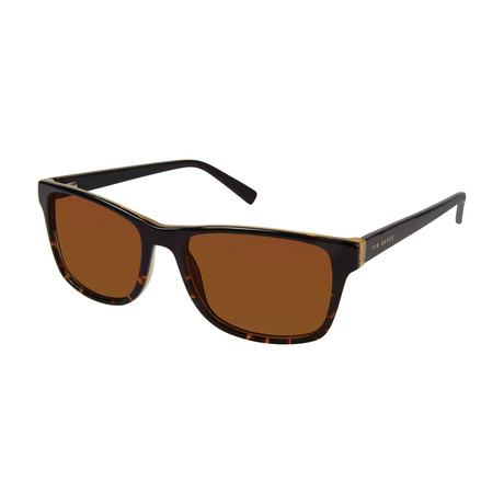 Mark Polarized Sunglasses // Black