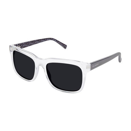 Matthew Sunglasses // Clear Crystal