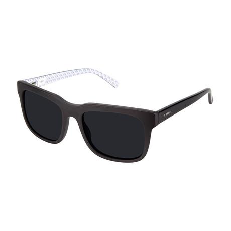 Men's Roman Square Polarized Sunglasses // Black