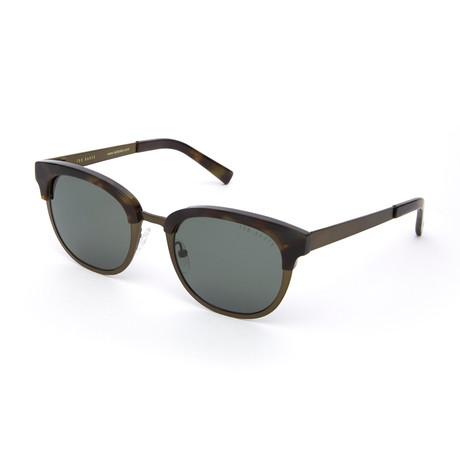 Men's Johnathan Polarized  Sunglasses // Olive Tortoise