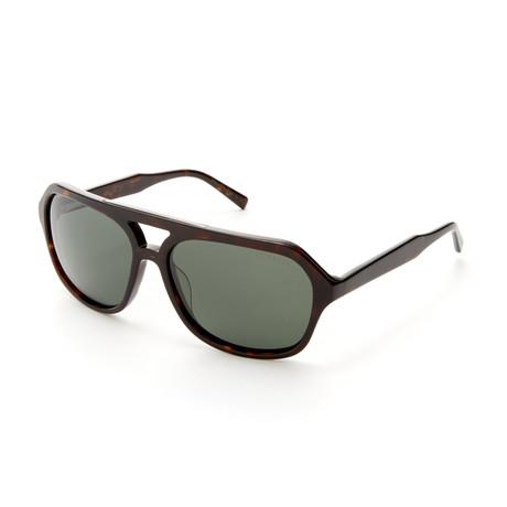Gunner TBM022 Navigator Polarized Sunglasses // Tortoise