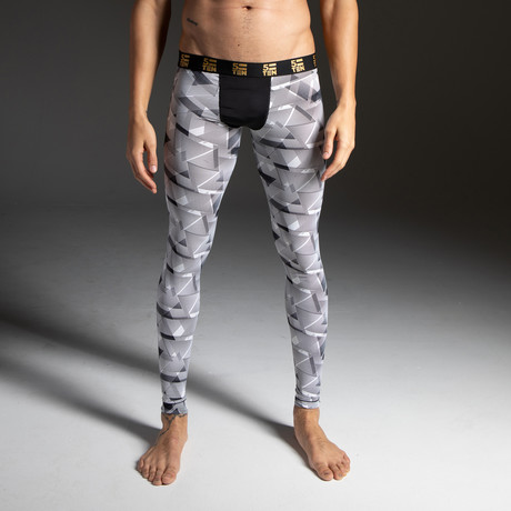 Athletic Wear Leggings // Geometric (S)