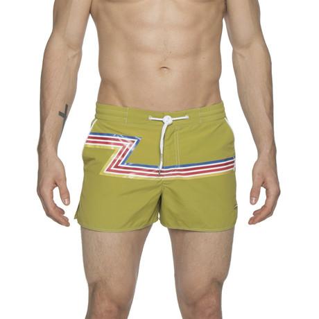 "2"" Barcelona Dry Cloth Swim Shorts // Grass Green Zed (XS)"