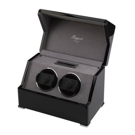 Rapport Perpetua Duo Watch Winder + Touch Screen