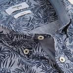 Sergei Short-Sleeve Button Down // Blue (S)