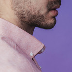 Giuseppe Short-Sleeve Button Down // Pink (M)
