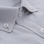 Rimsky Short-Sleeve Button Down // Gray (M)