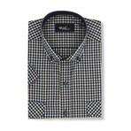 Domenico Short-Sleeve Button Down // Multicolor (S)