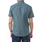Sibelius Short-Sleeve Button Down // Green (S)