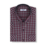 Giacomo Short-Sleeve Button Down // Red (L)