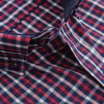 Giacomo Short-Sleeve Button Down // Red (XL)
