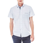 Mahler Short-Sleeve Button Up // White (S)