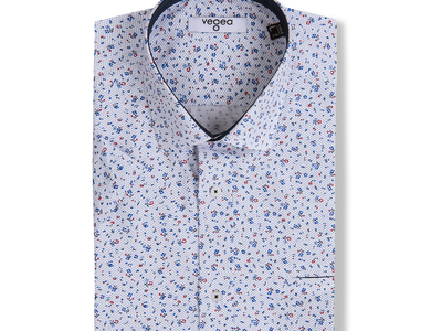 Photo of Vegea Essential Button Down Shirts Hadyn Short-sleeve Button Up // White (M) by Touch Of Modern