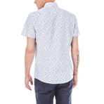 Hadyn Short-Sleeve Button Up // White (S)