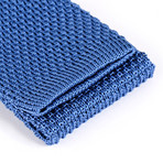 Tricot Knitted Tie // Blue Sky