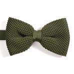 Silk Bow Tie // Green