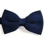 Silk Bow Tie // Mediterranean Blue