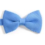 Silk Bow Tie // Light Blue