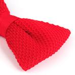 Silk Bow Tie // Secret Red