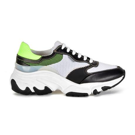 Kayo Sneaker // White + Green (Euro: 40)