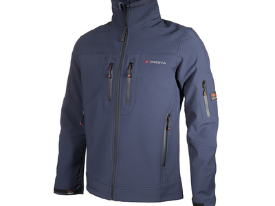 Photo of Cresta Innovative Outdoor Apparel Double Chest Zipper Jacket // Dark Blue (S) by Touch Of Modern