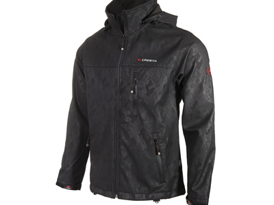 Photo of Cresta Innovative Outdoor Apparel Camo Chest Zipper Jacket // Black (S) by Touch Of Modern