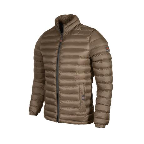 Lightweight Puff Jacket // Khaki (S)