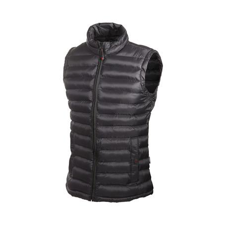 Lightweight Puff Vest // Black (M)