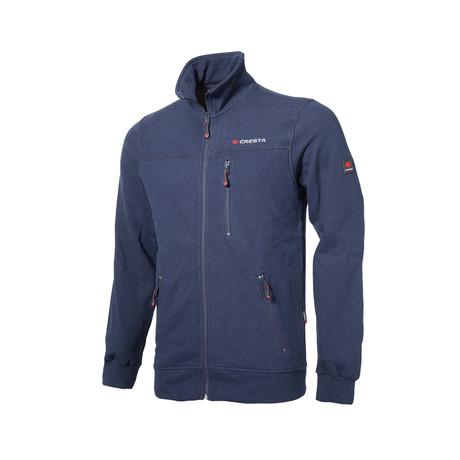 Zip-Up Jacket // Deep Blue (S)