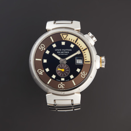 Louis Vuitton Tambour Automatic // Q1031 // Pre-Owned