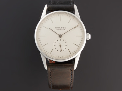 Photo of Inspiring Timepieces Bold & Astounding Watches Nomos Modell Manual Wind // 7999 // Pre-Owned by Touch Of Modern