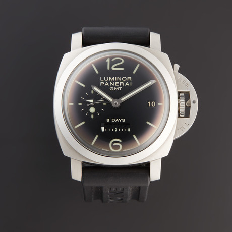 Panerai Luminor 1950 GMT 8-Day Power Reserve Manual Wind // PAM233 // Pre-Owned
