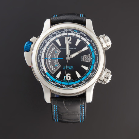 Jaeger-LeCoultre Master Compressor Extreme W-Alarm Tides of Time Automatic // Q177847 // Pre-Owned