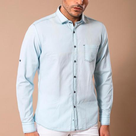Jeremiah Slim-Fit Shirt // Light Blue (S)