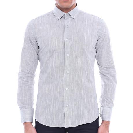 Simon Slim-Fit Shirt // Gray (S)
