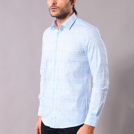 Norbert Slim-Fit Shirt // Light Blue (S)
