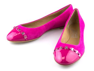 Photo of The Designer Shoe Collection Valentino, Ferragamo + More Salvatore Ferragamo // Pim Suede Ballet Flat // Pink (Euro: 38) by Touch Of Modern