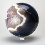 """Amethyst Geode Agate Sphere (2.5"""")"""