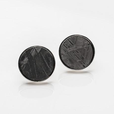 Seymchan Meteorite Cufflinks