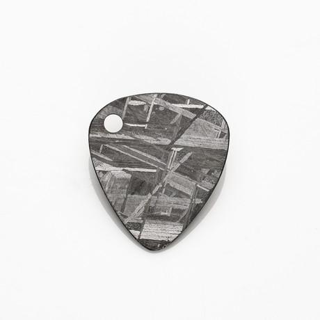 Seymchan Meteorite // Guitar Pick Pendant