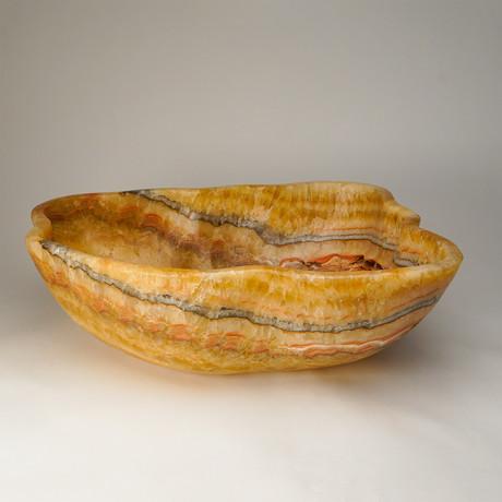 Natural Onyx Bowl // Mexico (17.5 lbs.)
