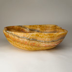 Natural Onyx Bowl // Mexico (17.5 lbs.)