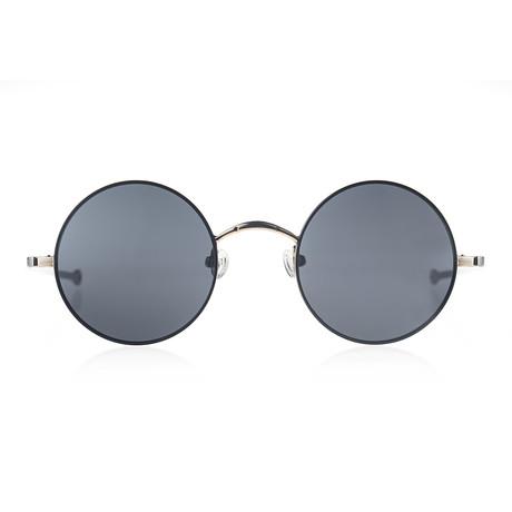 Circular II Sunglasses // Raven // Gold + Black