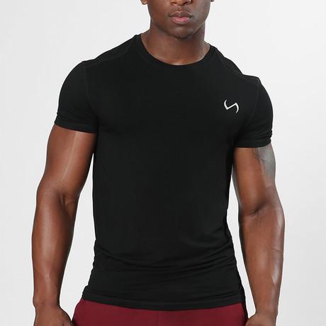 Root Crew Neck Shirt // Black (S)