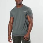 Root Crew Neck Shirt // Mineral (L)