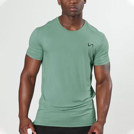 Root Crew Neck Shirt // Lakeshore (S)