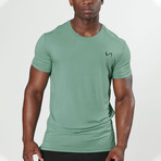 Root Crew Neck Shirt // Lakeshore (XL)